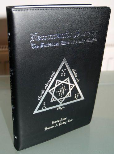 Necromantic Sorcery Dlx Pig Skin Dante Abiel Occult Grimoire