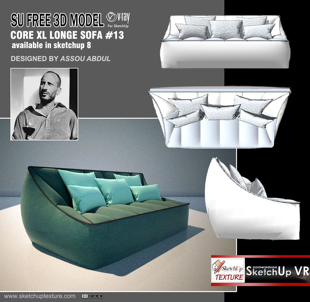 Very Chic Free 3d Model Designed And Modeled In Sketchup By