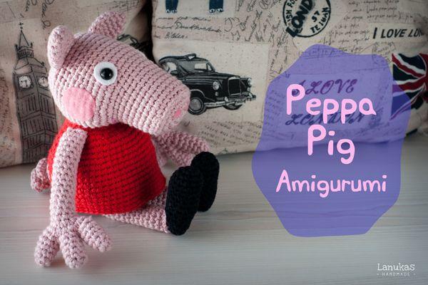 Amigurumi Tutorial Peppa Pig : Tutorial peppa pig amigurumi how to crochet peppa pig amigurumi