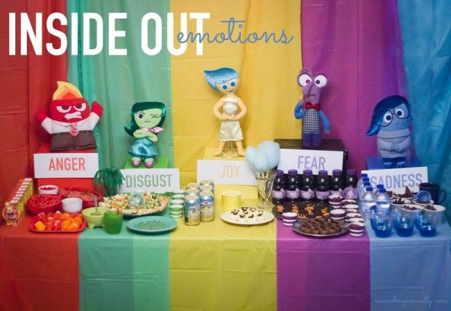 INSIDE OUT PARTY IDEAS Mi nia Cumpleaos y Piatas