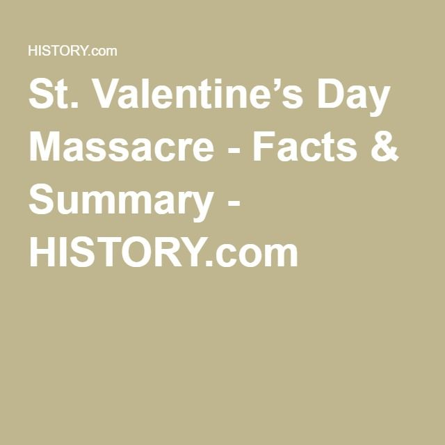 st valentines day massacre facts summary historycom