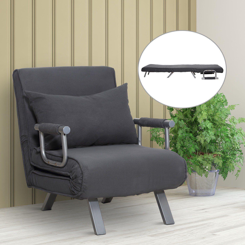 Adjustable Folding Convertible Single Sleeper Sofa