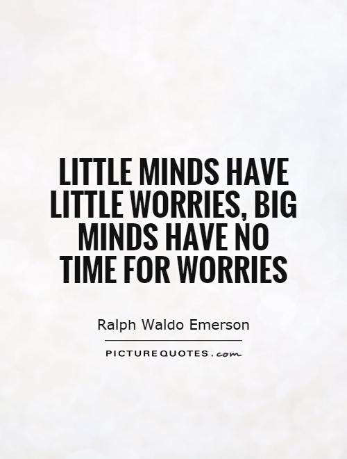 Quotations On Worry