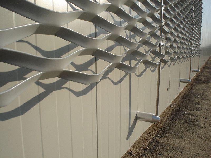 panneau de facade en m tal d ploy maille brooklyn expanded mesh pinterest m tal d ploy. Black Bedroom Furniture Sets. Home Design Ideas