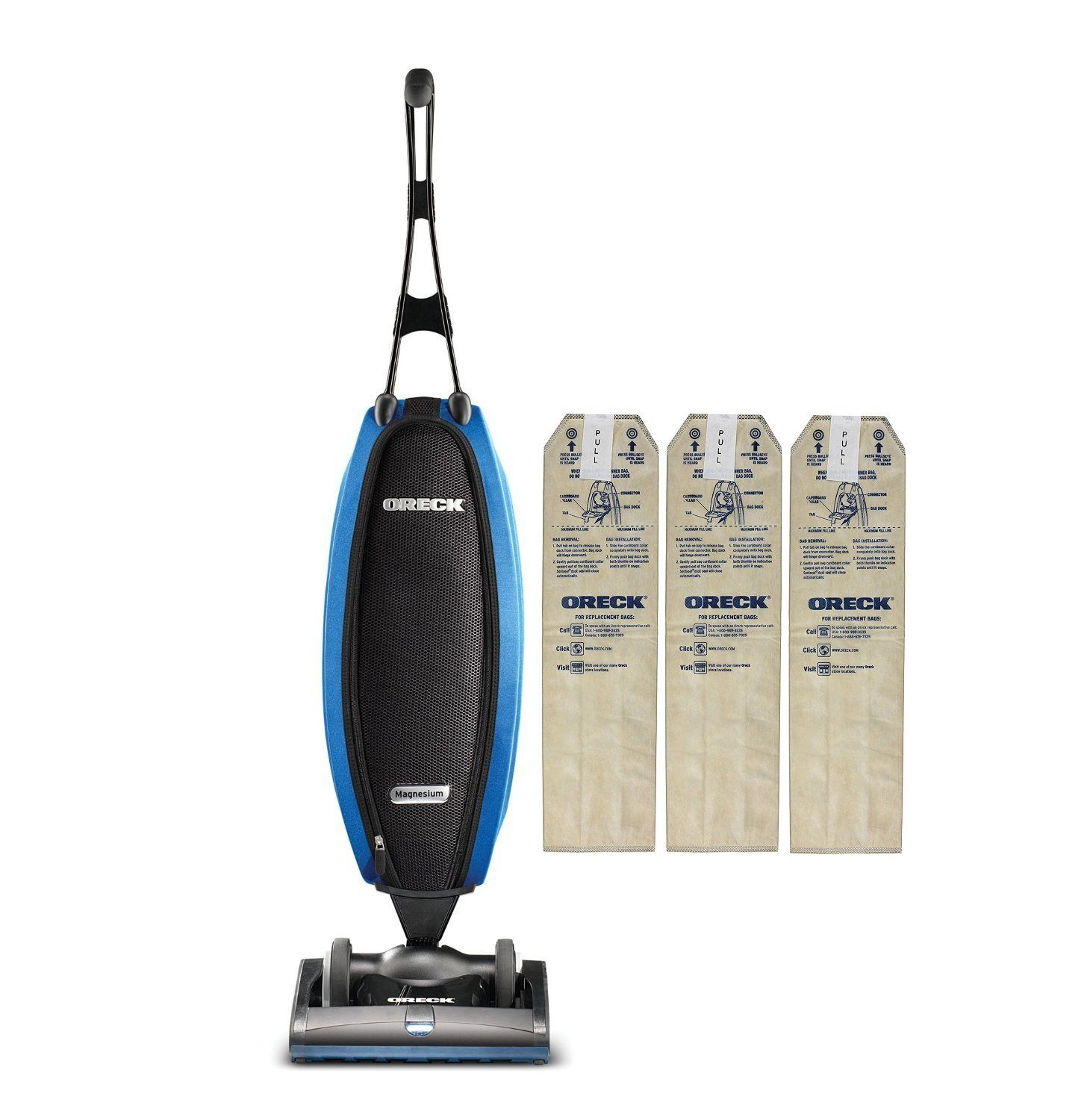Oreck upright vacuum cleaner lw100 with 3 hepa bags carpets oreck upright vacuum cleaner lw100 with 3 hepa bags carpets tile and hardwood flooring dailygadgetfo Choice Image