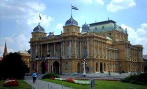 National Theatre Zagreb Croatia Travel Guide Wikitravel Croatia Tourism Zagreb Croatia Travel Guide