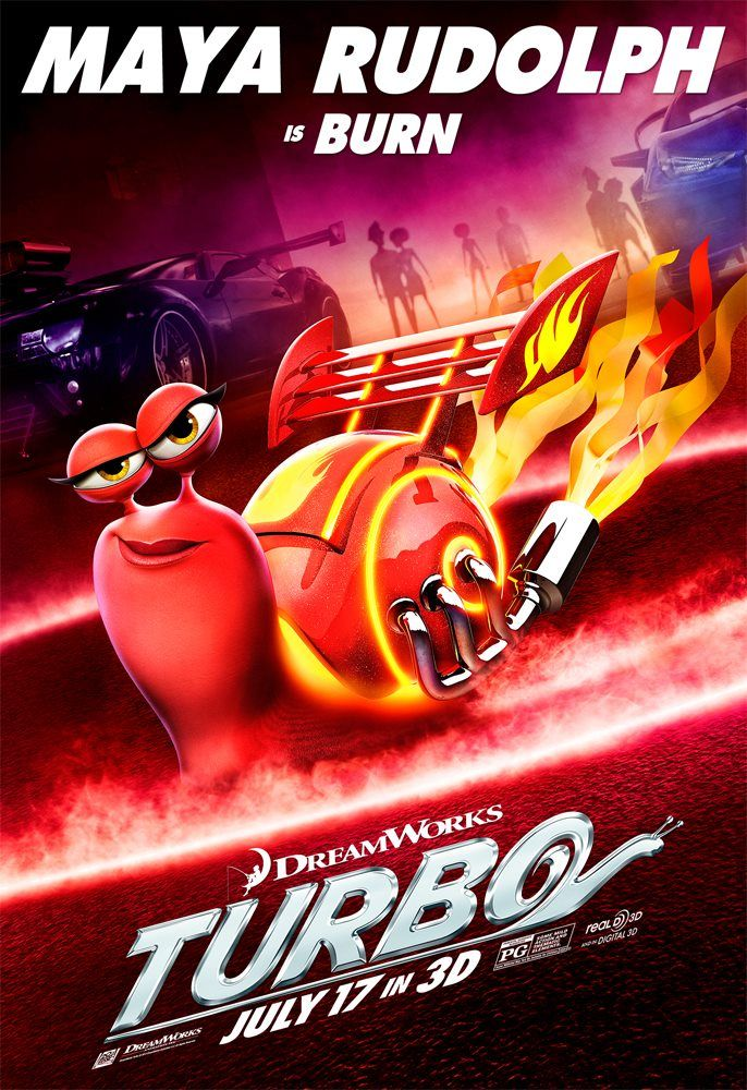Maya Rudolph Is Burn Animated Movie Posters Dreamworks Dreamworks Animation