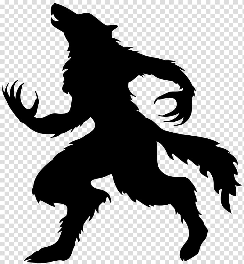 Werewolf Halloween Full Moon Gray Wolf Halloween Werewolf Silhouette Transparent Background Png Clipart Halloween Full Moon Werewolf Halloween Silhouettes