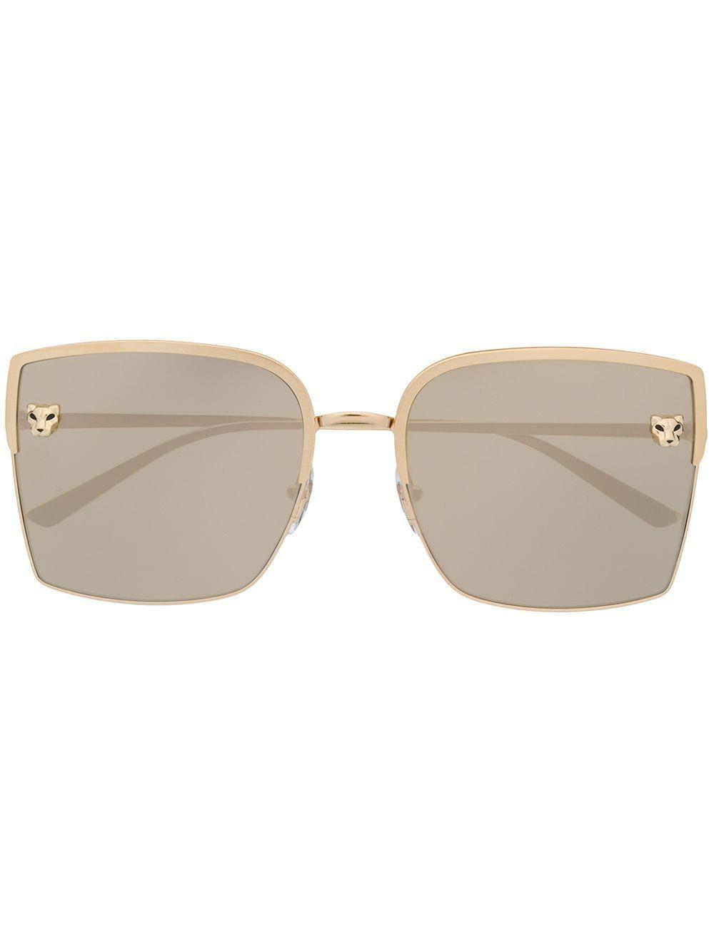 Cartier Panthère oversized frame sunglasses