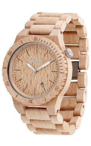 Beta Beige Wewood Wooden Watches Uhr Holz Stilvolle Uhren Holz Armbanduhr