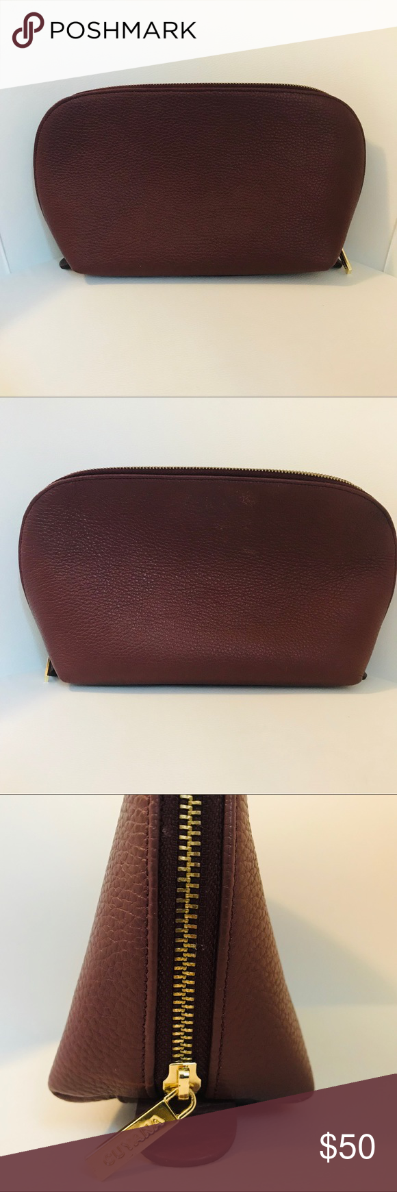 Cuyana Large Travel Bag Cosmetic Toiletries Clutch Large