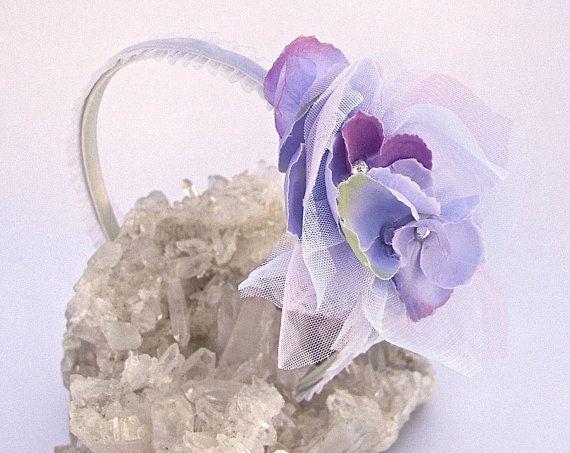 4 Piece Flower Girl Basket Set in Lavender And by AGoddessDivine