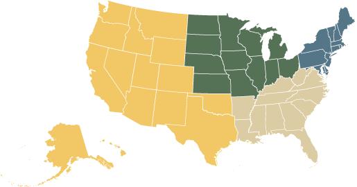 Regional University Rankings Top Regional Universities US News - Us news map