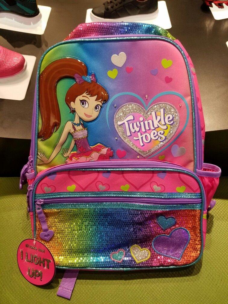 5bfa82498692 Light up Twinkle Toes backpack   Skechers
