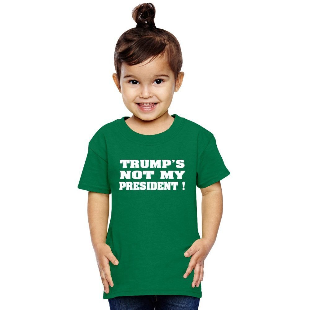 Trumps Not My President W Toddler T-shirt