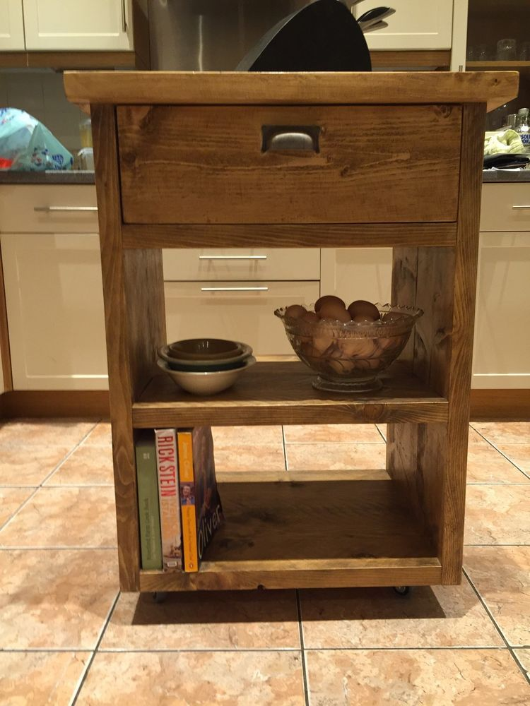Handmade Kitchen Islands Sieve Island Unit From Recycled Scaffold Planks Ebay