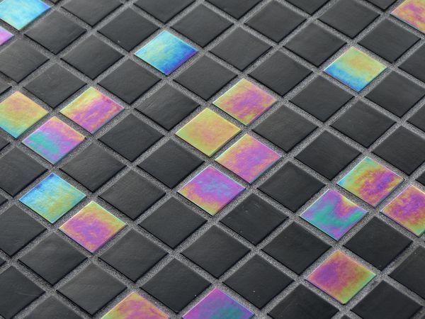 Mosaique piscine ou carrelage salle de bain en pates de for Carrelage piscine mosaique