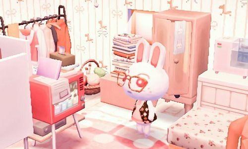 Kawaii Bunny And In A Room