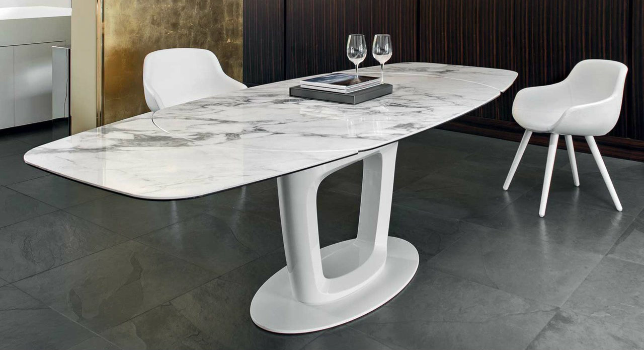 Orbital Dining Table Clear Top Dining Table Table Dining