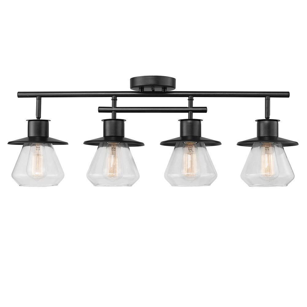 Best Farmhouse Track Lighting For Your Rustic Home We Absolutely Love Farmhouse Lighting Fixtures In 2020 Track Lighting Kits Farmhouse Track Lighting Track Lighting