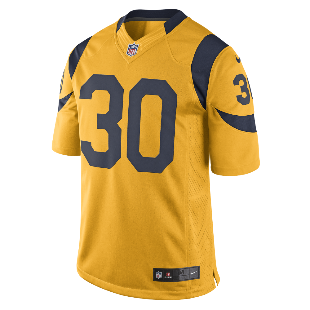 Nike Nfl Los Angeles Rams Todd Gurley Kids Football Color Rush Game Jersey Size Medium Orange Todd Gurley Color Rush Nike Men