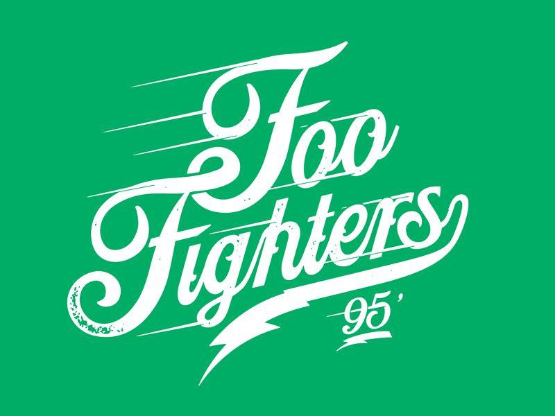 Foo Fighters Speed Foo Foo Fighters Lettering Typography Letters