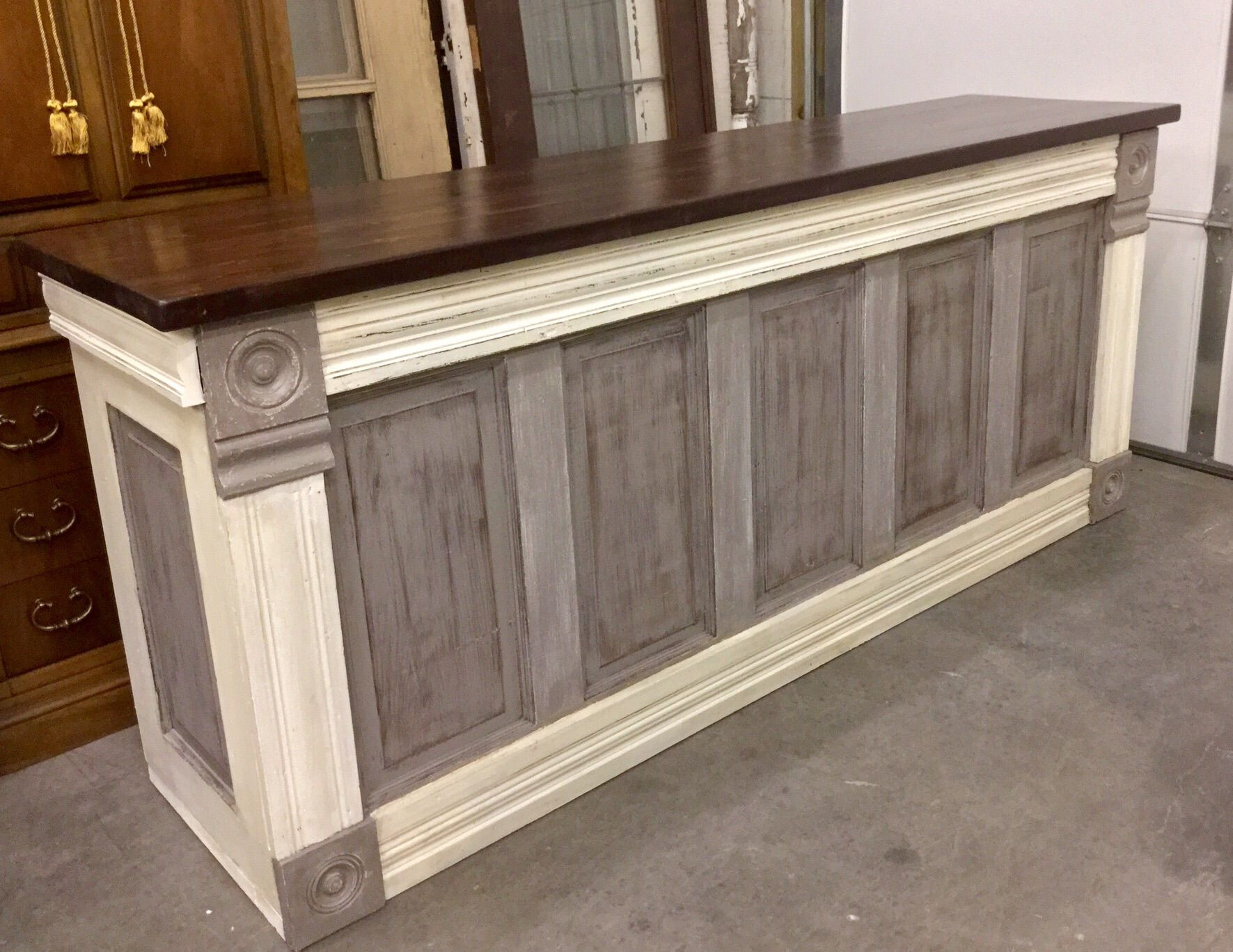 Just Finished This Urban Chic Custom Counter This Evening I Build