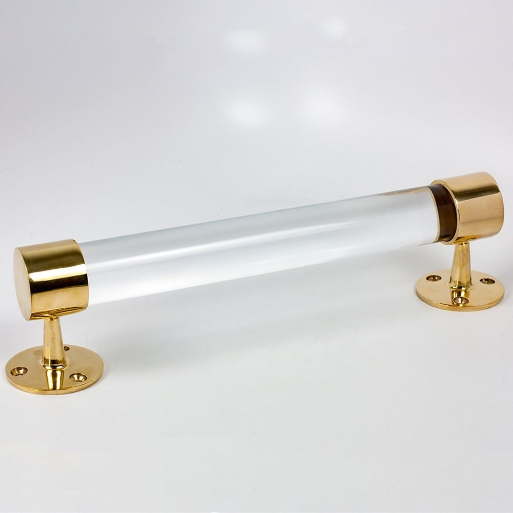 Cast Clear Acrylic Solid Rod Is Excellent For Use As A Curtain Rod