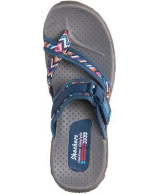 35e2c2955131 Skechers Women s Reggae - Zig Swag Sport Sandals from Finish Line -  NAVY MULTI 10
