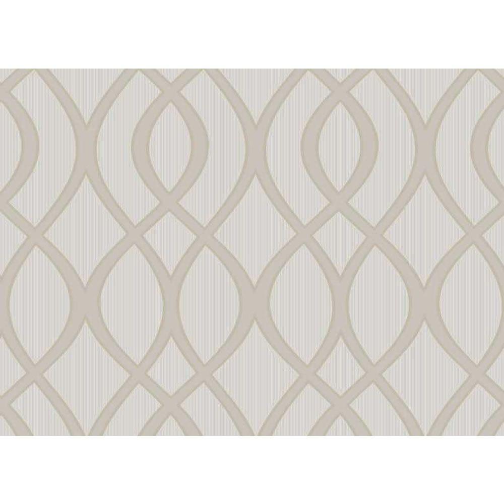 Wilko Trellis Neutral Wallpaper - feature wall - Wilko Trellis Neutral Wallpaper - Feature Wall Lounge Room