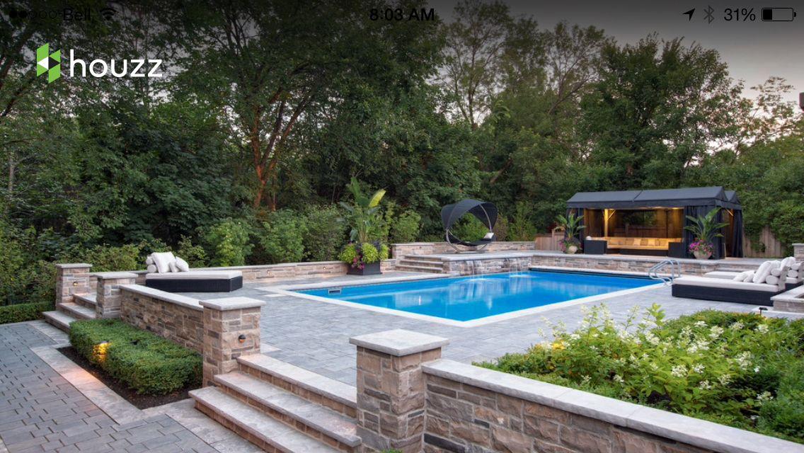 Pin by Jackelyn Wheeler on Backyard ideas Pinterest Dream pools