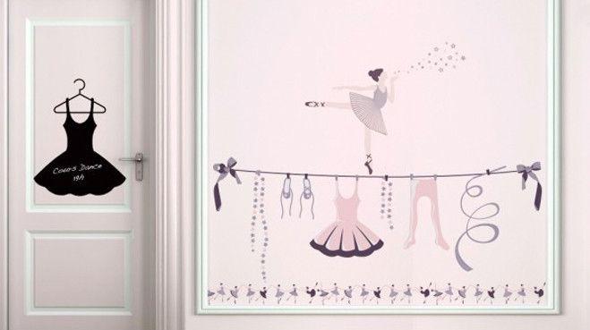 Egayer La Chambre D'Enfant Grâce À Des Frises Murales