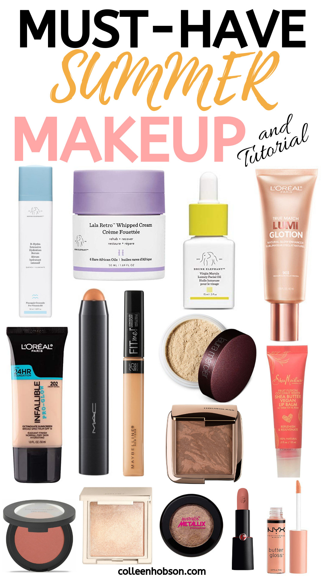 Summer Makeup Must Haves and Tutorial Summer makeup