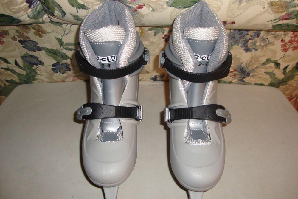 CCM Tykes Kids Adjustable Ice Skates Size 24 CCM