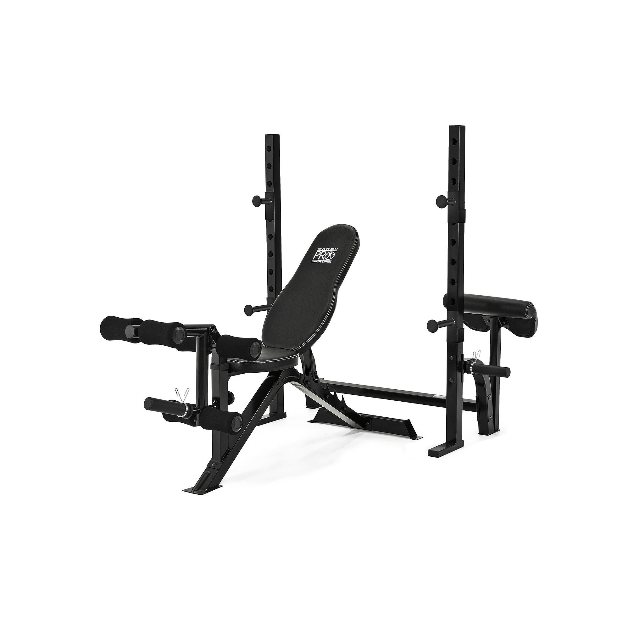 Marcy 2piece pro olympic weight bench olympic weights