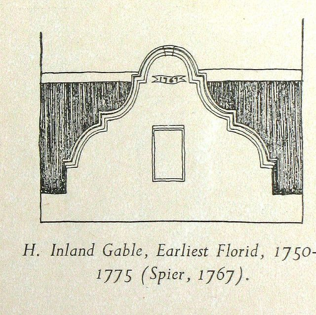 Inland #Gable, Cape Dutch Architecture Detail Drawing