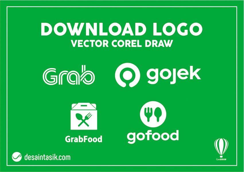 Download Logo Gojek Dan Grab Vector Cdr Png Desain Banner Brosur Spanduk