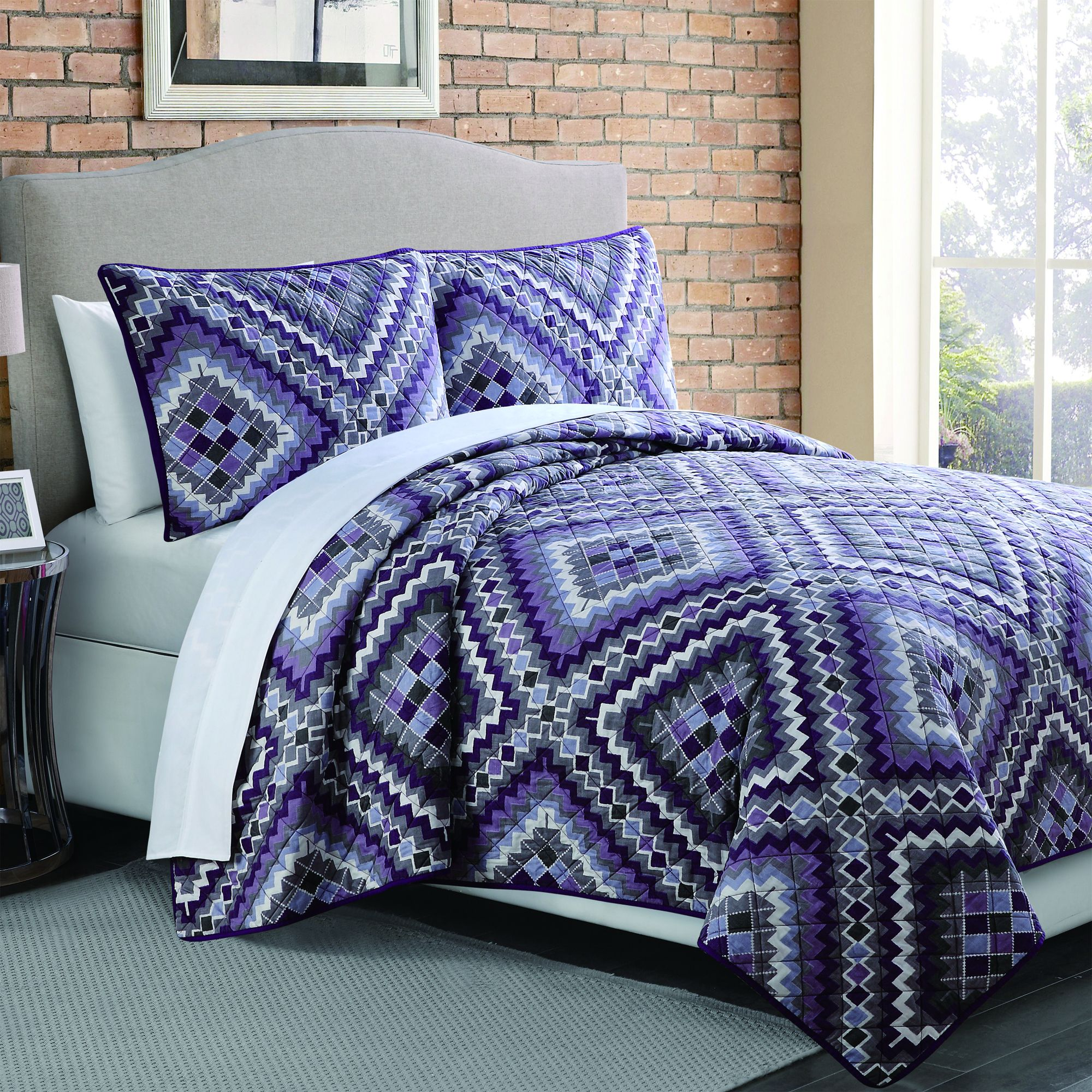 king x size sets katelin brown set bedspreads comforter specs quilts quilt striped oversized quilted reversible bedspread