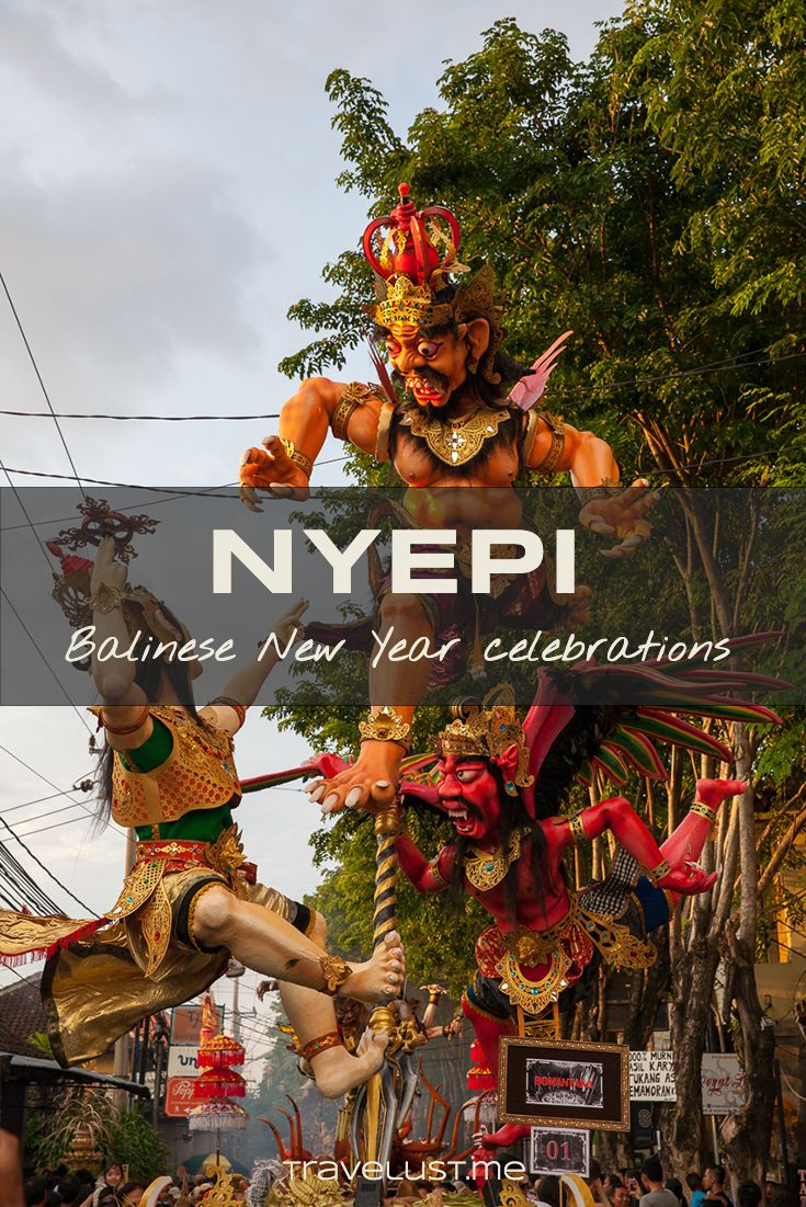 Traditional Newyear On Bali Is Celebrated In March According To The Balinese Saka Calendar The Hindu Festival Nyepi Day New Year Celebration Day Of Silence