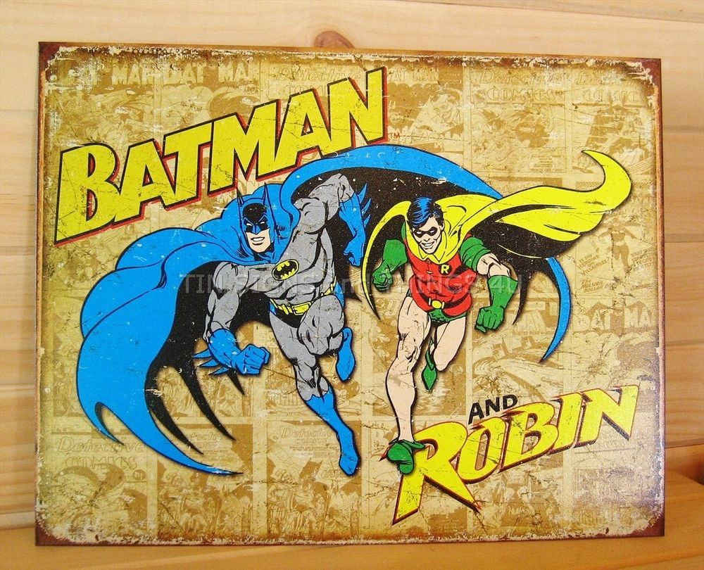 Colorful Vintage Superhero Wall Decor Frieze - Art & Wall Decor ...
