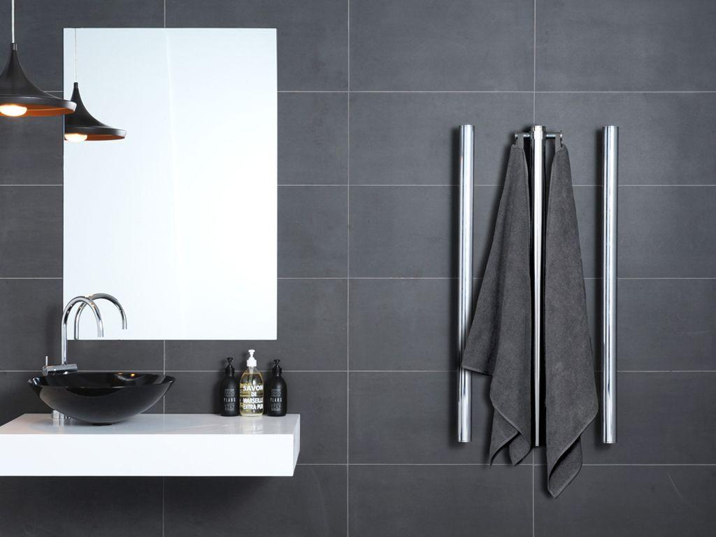 Bathroom heated towel radiators - Hydrotherm Tube Style Heated Towel Rails Also Heats The Room 50mm Diameter And