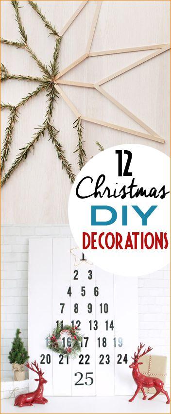 Homemade Christmas Decor Fun diy, Advent calendars and Christmas decor