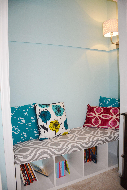Ikea Kallax Bench Reading Nook Closet See Https Www Pinterest