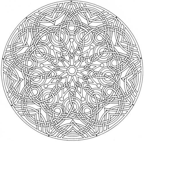 Mandala-Coloring-Pages-For-Adults-42 | colorear 2 | Pinterest ...