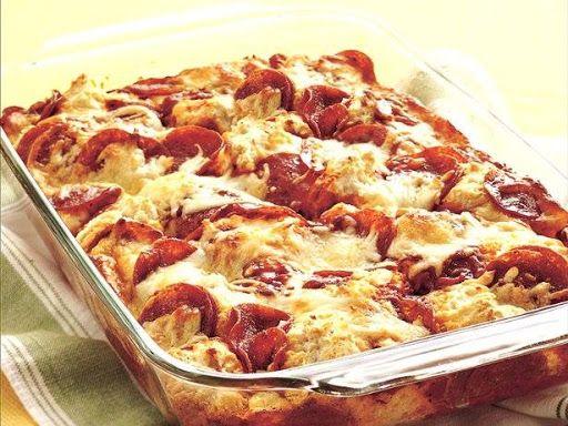 5-ingredient Pizza Bake By Nancy S