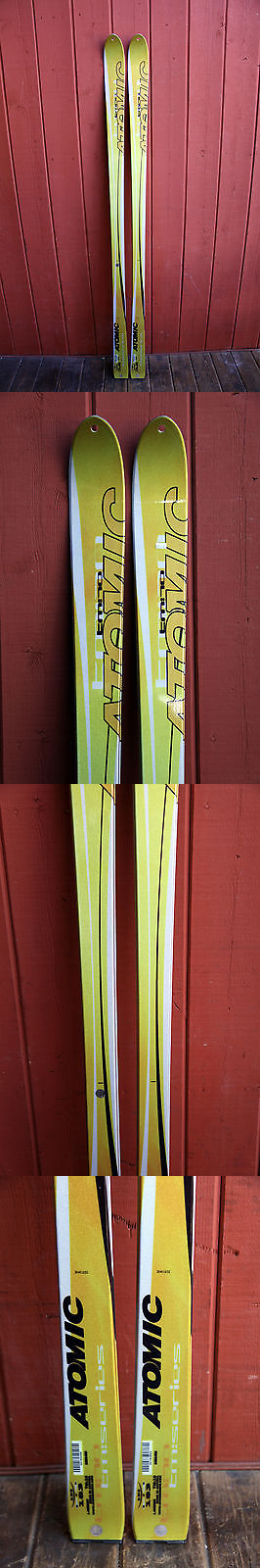 Telemarking 62214: Atomic Tm:10 Telemark Skis 183 Cm. Brand New! Telemarking Tm10 BUY IT NOW ONLY: $135.0