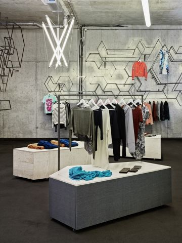 stoffs chtig store by holger berg store retail and visual merchandising. Black Bedroom Furniture Sets. Home Design Ideas