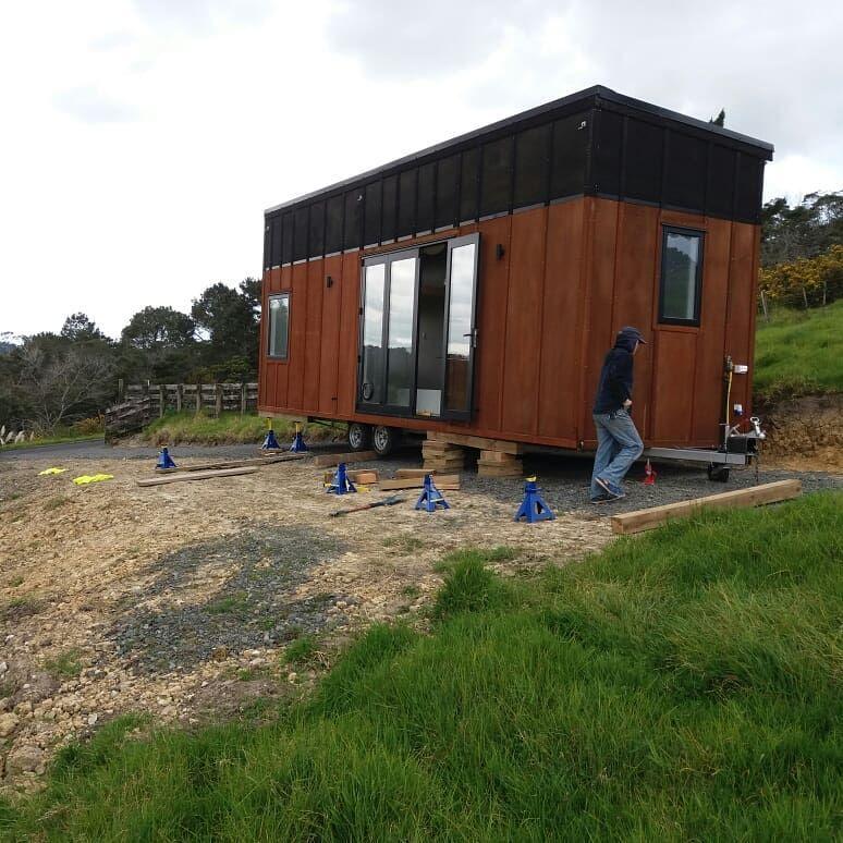 Mat Hayley S Tiny House Build In Auckland New Zealand En