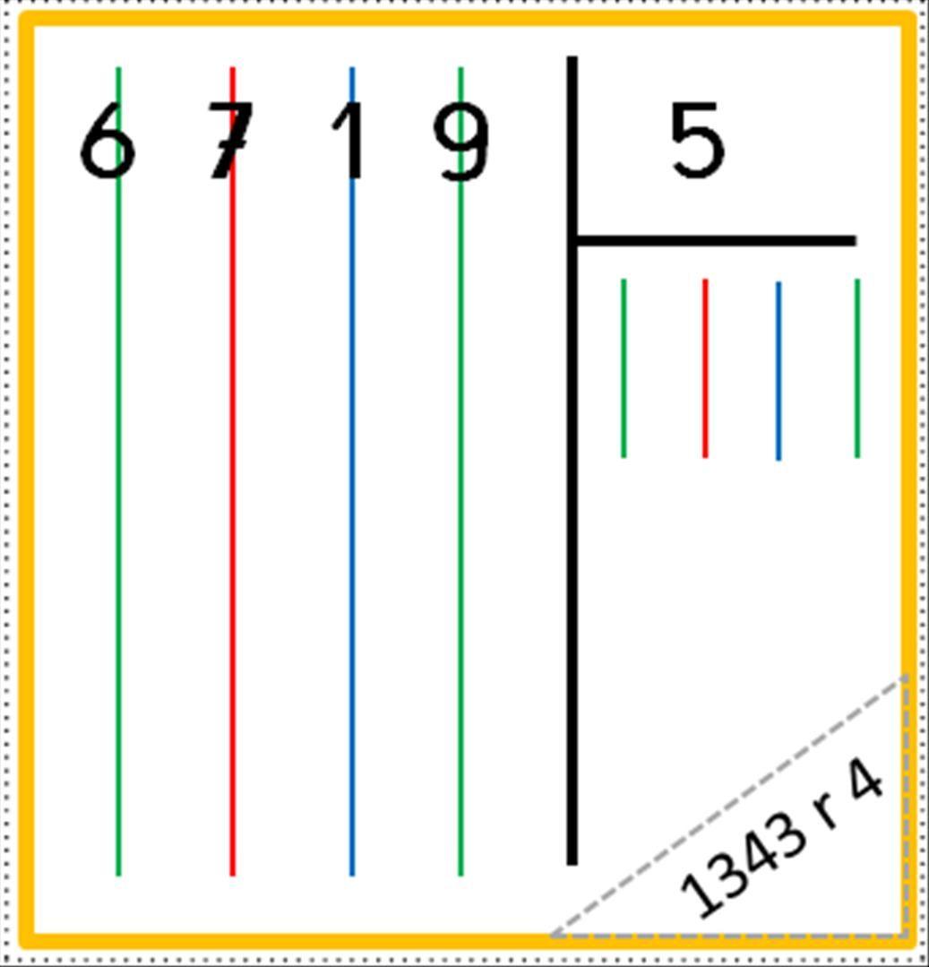 Atelier : La division posée | Division posée, Maths cm2 et ...