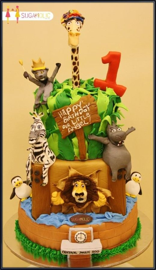 Madagascar Cake - Hey, Cupcake!